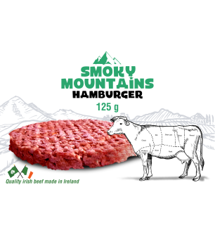 Smoky Mountain Hamburger 125gr